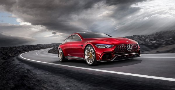Mercedes-AMG представил новый гибрид GT Concept