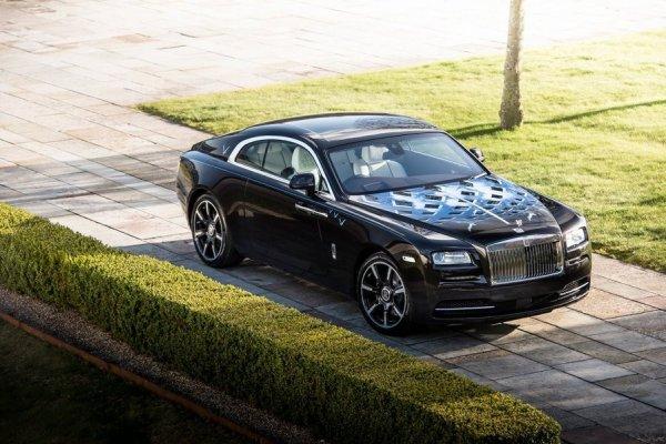 Rolls-Royce посвятил купе Wraith группам The Who и The Beatles