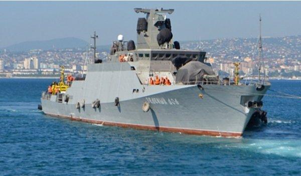 Минобороны: Корабль Черноморского флота «Лиман» потерпел крушение