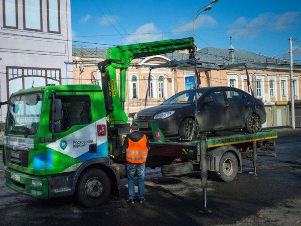 Москва усилит контроль за автомобилями без номеров