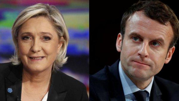 Макрон лидирует во втором туре выборов на заморских территориях Франции