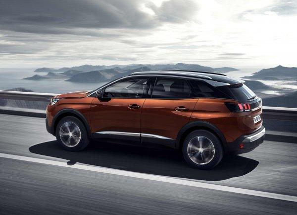 Peugeot объявил цены на новый кроссовер 3008