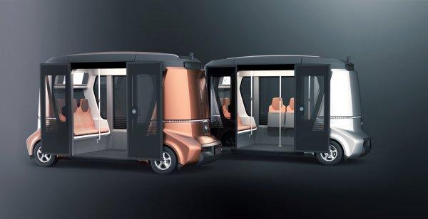 Выпуск беспилотного автобуса «Матрешка» в России запланирован на 2017 год