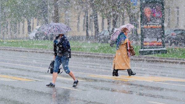 В Москве синоптики прогнозируют выпадение снега в конце мая