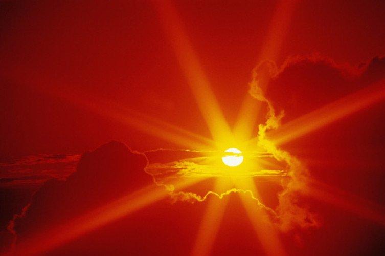 злобное солнце фото всё