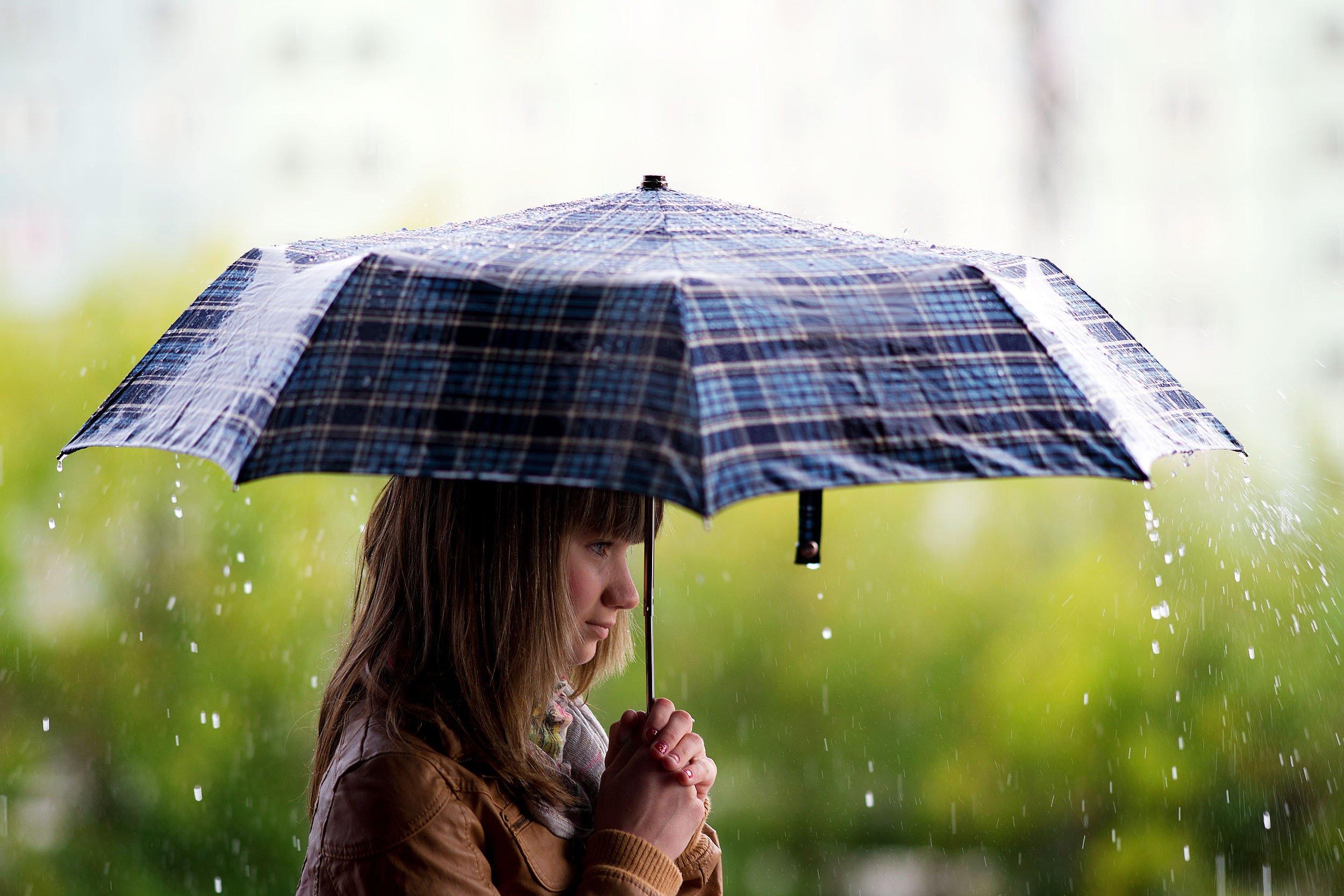 Картинки про дождик, для