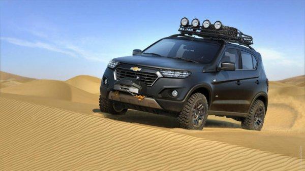 Власти Самарской области намерены выпустить Chevrolet Niva-2
