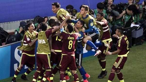 В финал молодежного чемпионата вошли Венесуэла и Англия