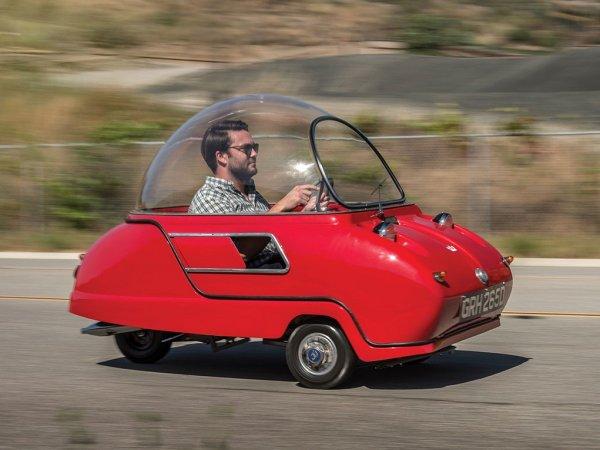 Самый маленький в мире автомобиль продают в Калифорнии