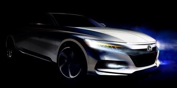 Honda озвучила дату премьеры нового Accord