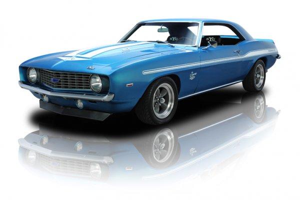 Компания Chevrolet Camaro 1968 продала на аукционе Yenko за 395 000 долларов