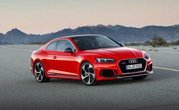 Новая генерация Audi RS5 Coupe завершила тесты на дорогах Франции