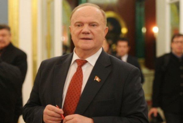 Зюганов сказал, что сборной России по футболу должно быть стыдно так играть