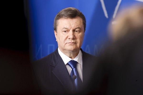 Экс-президент Украины Виктор Янукович выступает за присоединение Крыма к Украине
