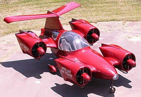 Эксклюзивный аэромобиль выставили на продажу на Ebay за 5 млн долларов