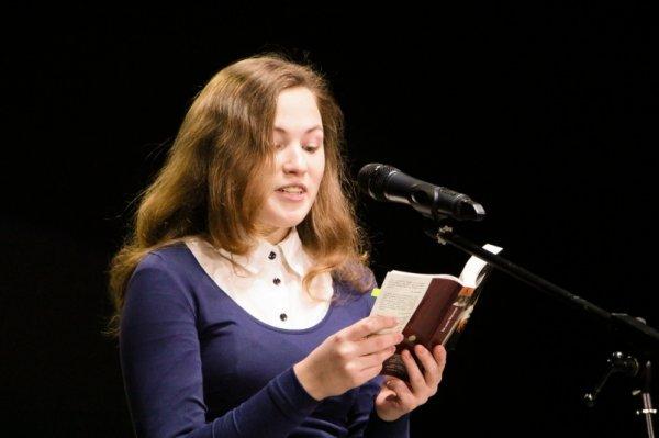 В финале конкурса по чтению вслух взяла участие школьница из Красноярска