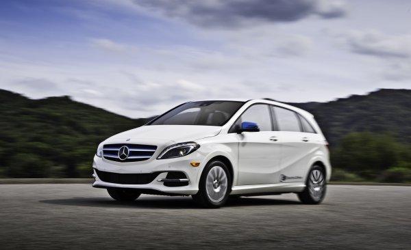 Mercedes-Benz снимает с производства электрический B-Class