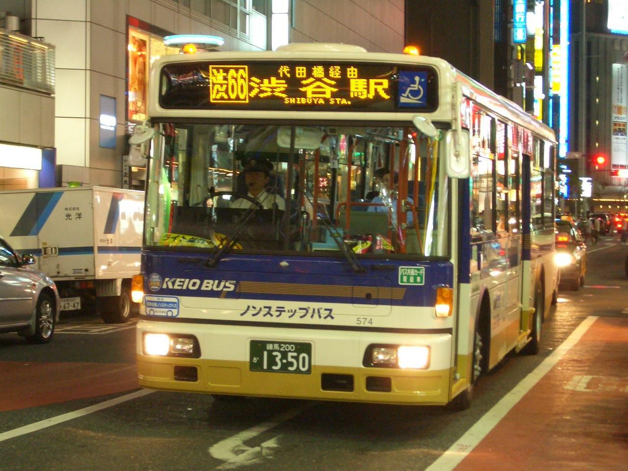 Фото японских автобусов