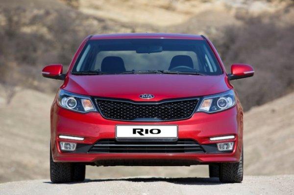 KIA Rio снова стал бестселлером российского рынка в июле