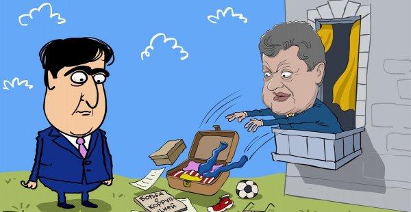 Саакашвили предложили для возвращения в Украину оформить визу