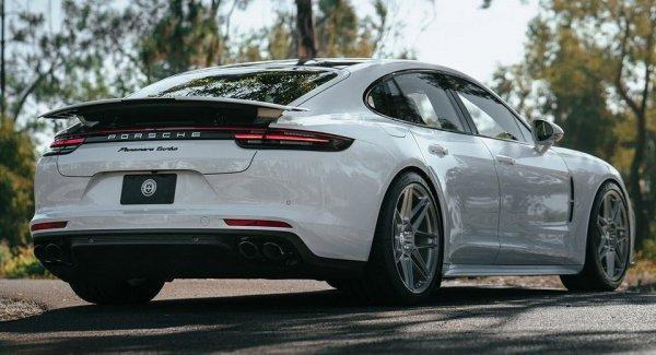 Porsche Panamera Turbo получил титановые колёсные диски