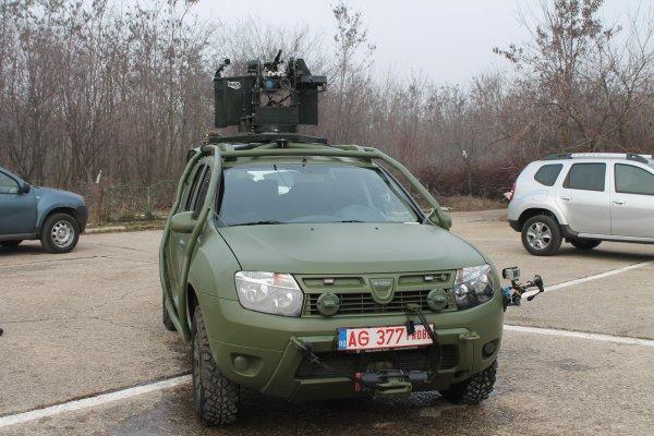 Компания Renault выпустила бронированную модификацию Duster