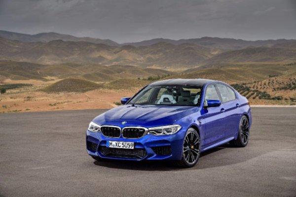 Официально представлен новый суперседан BMW M5