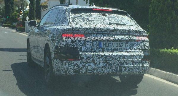 Новый кроссовер Audi Q8 проходит дорожные тесты в Испании