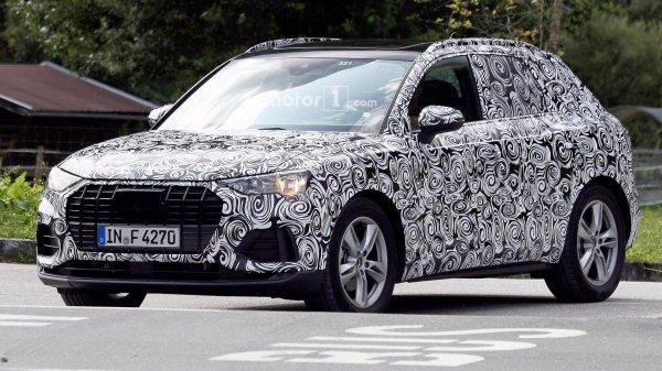 Новый Audi Q3 2019 замечен на дорожных тестах