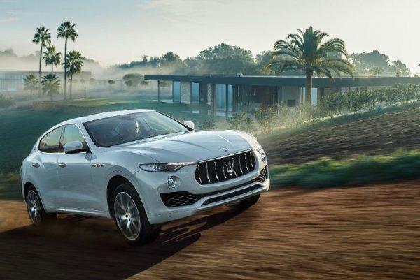 Продажи бренда Maserati в России выросли на 9%