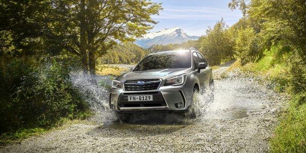 В России стартовали продажи обновлённого Subaru Forester 2018