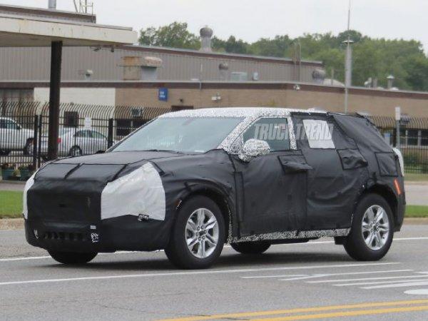 Опубликованы новые шпионские фотографии Chevrolet Blazer 2019
