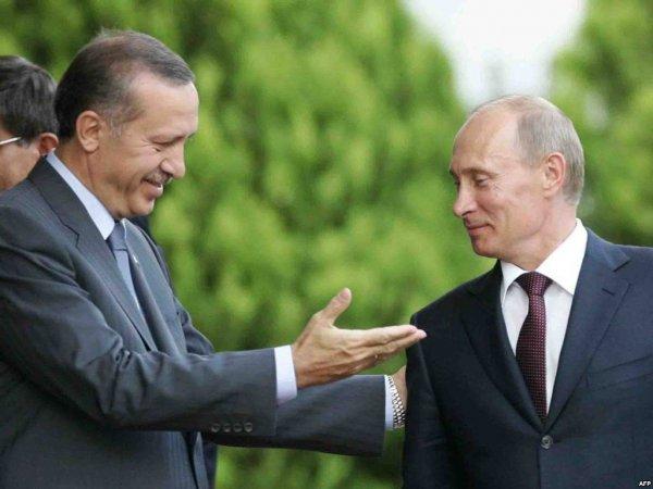 Путин встретился с Эрдоганом в Турции