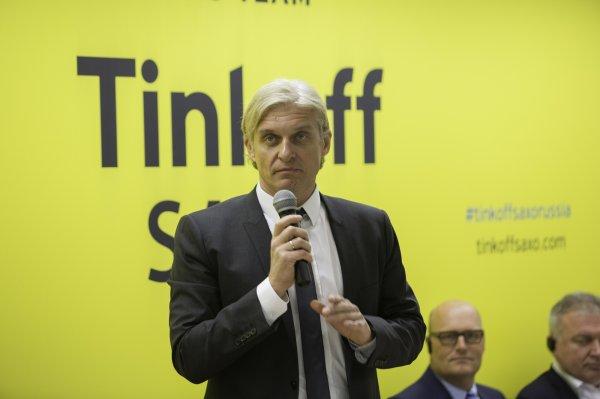 Тиньков прокомментировал создание нового цифрового банка «Альфа-групп»