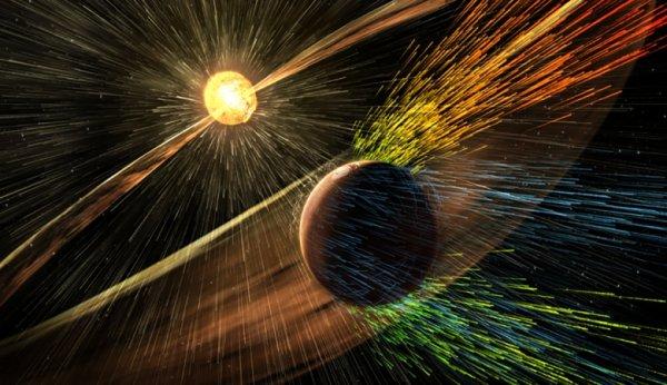 На Землю идет новая магнитная буря
