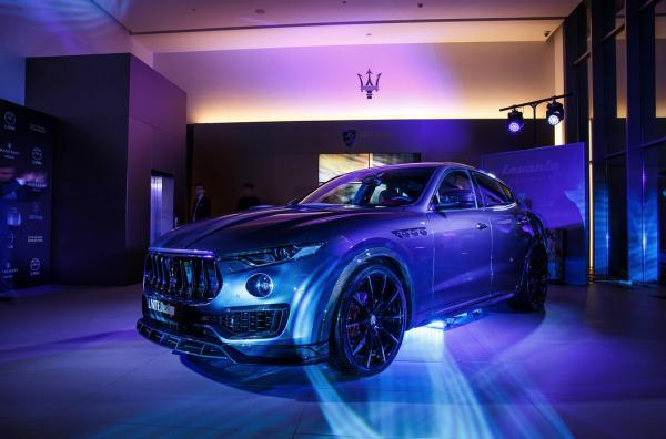 В России прошла закрытая демонстрация Maserati Levante by Larte Design