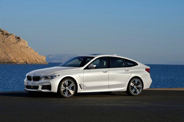 седан BMW 6 Series GT