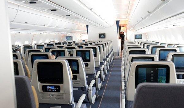Пассажирский самолет вернулся в Уфу из-за неисправностей двигателей