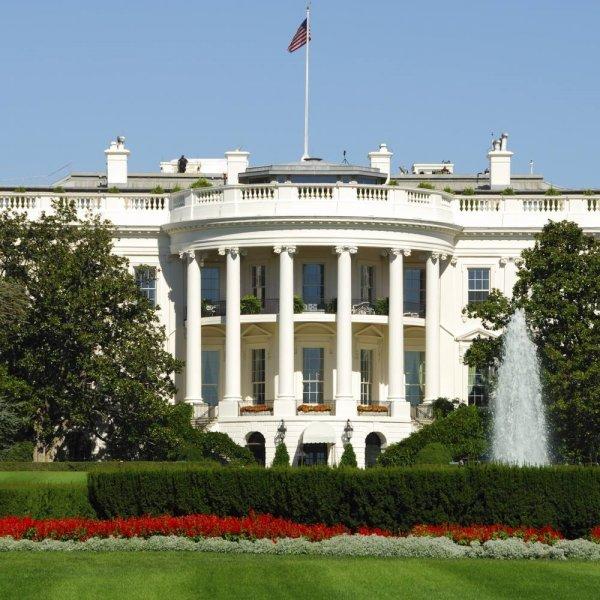 В Вашингтоне неизвестного задержали при проникновении в Белый дом
