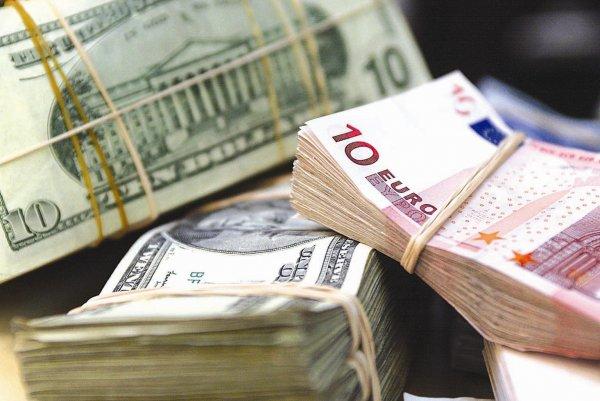 Курсы доллара и евро снизились по отношению к рублю впервые с 10 ноября
