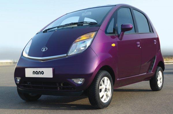 Tata представила самый дешевый в мире электромобиль – Tata Nano