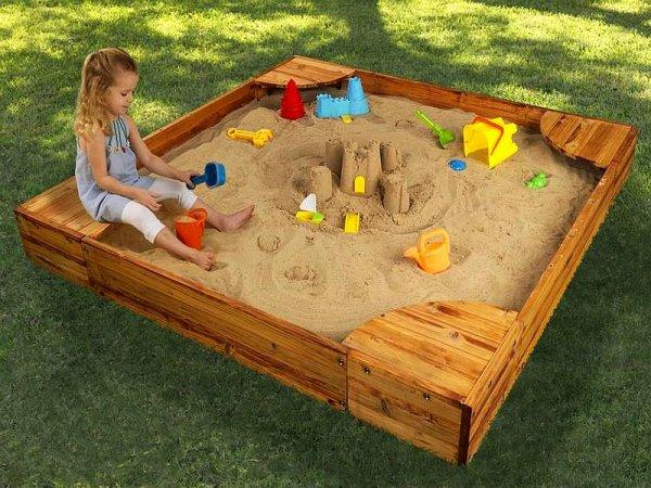 Выбираем детскую песочницу