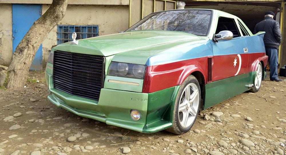 Азербайджанская машин картинка