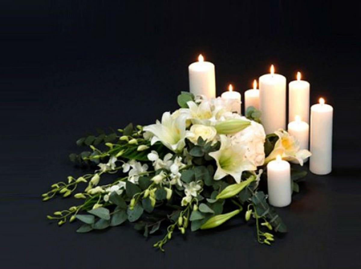 уважаемые картинки цветы свечи траур пейзажные