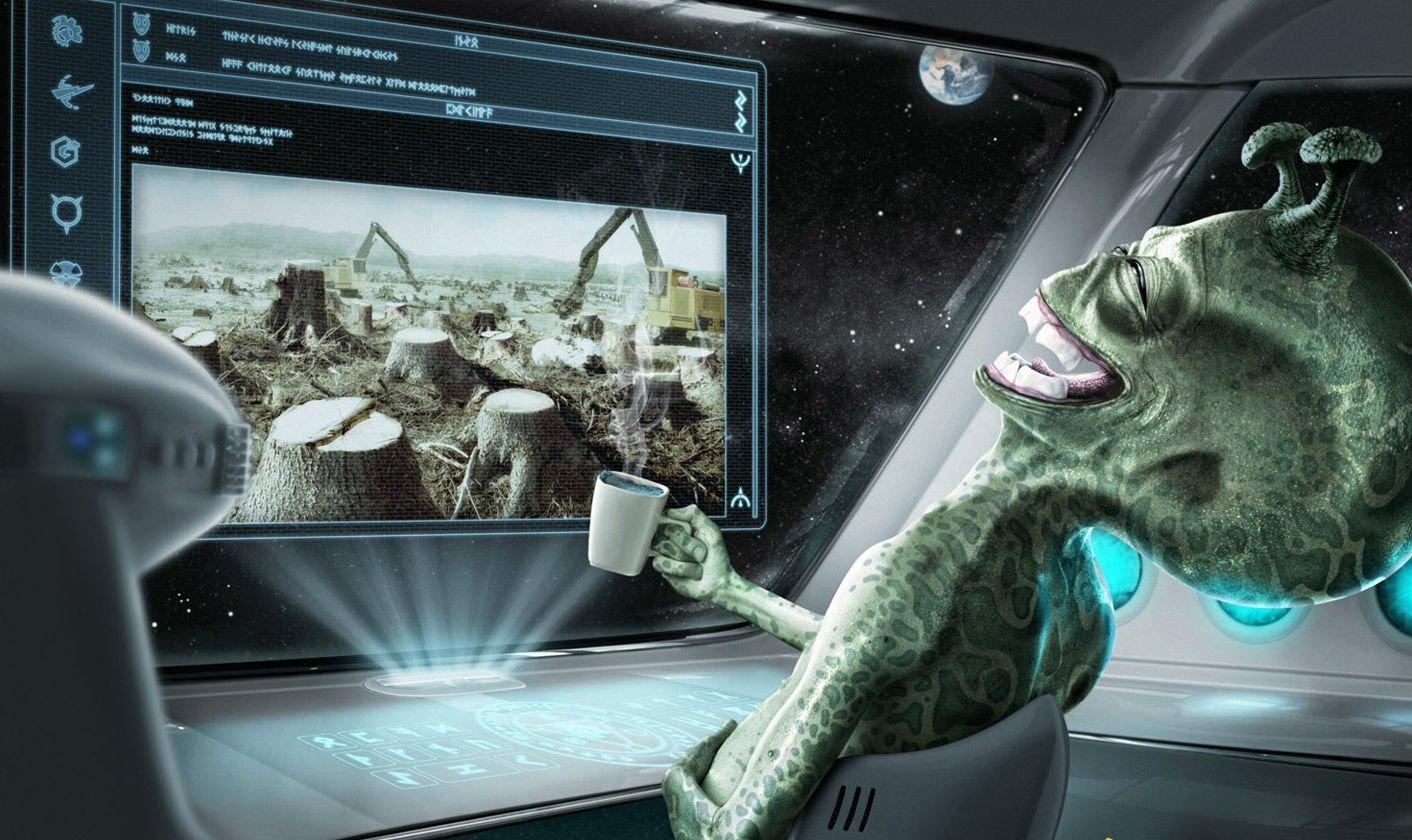 Картинки приколы инопланетяне