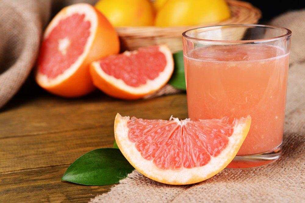 Для похудения напиток грейпфрут и лимон