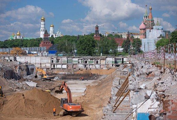 Гостиницу возле Кремля достроят в начале 2019 года