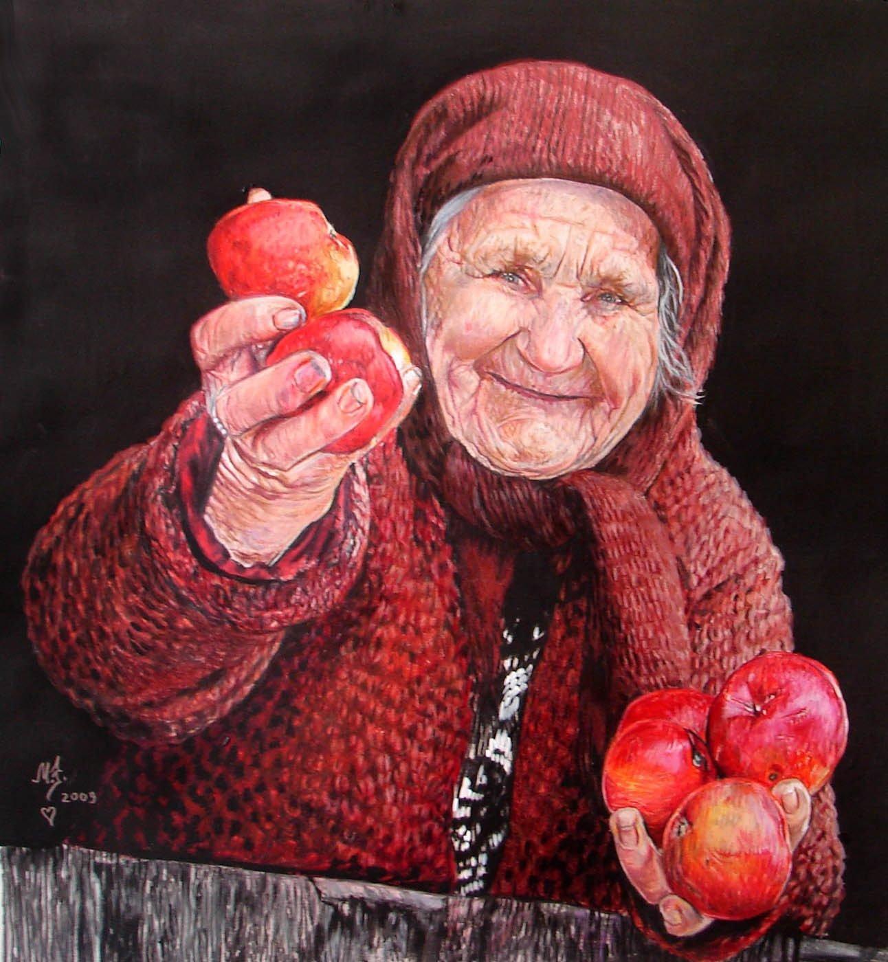 Картинка доброй бабушки