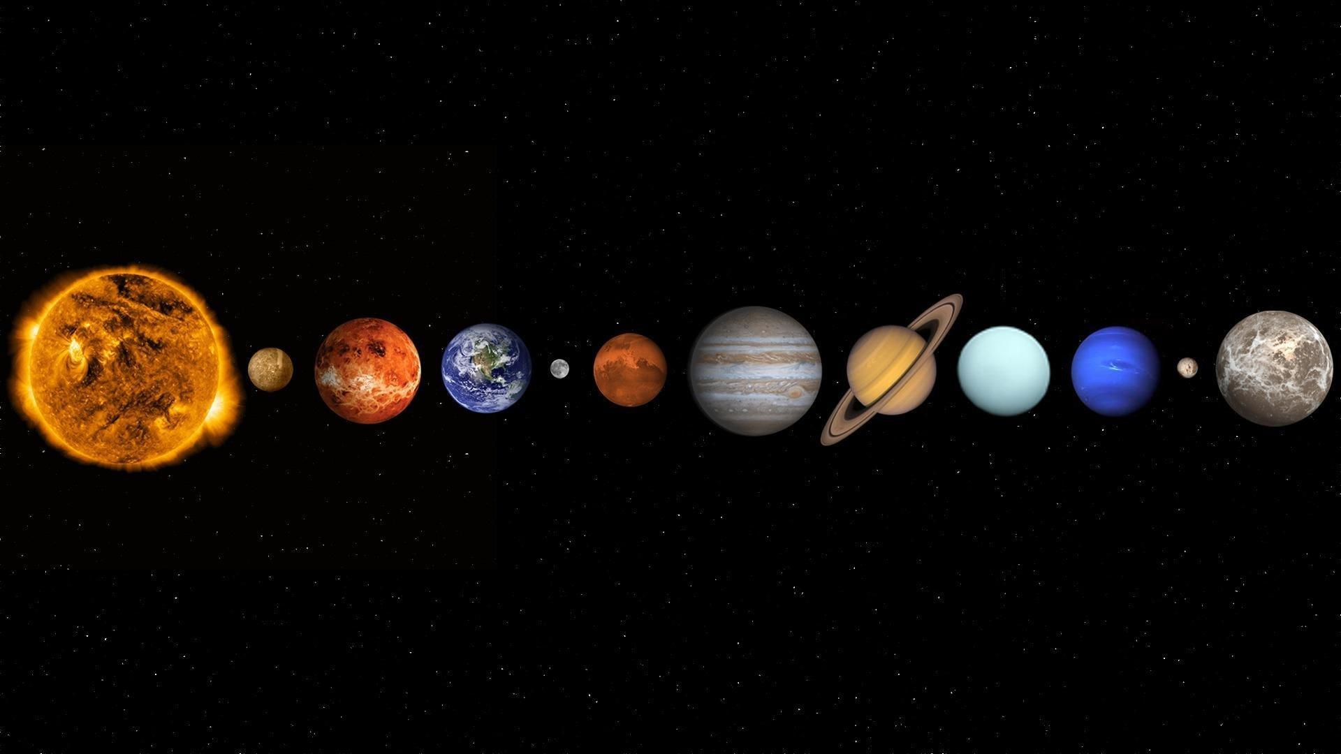 Солнечная система большие картинки