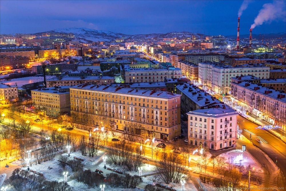 Мурманск фото города обеспечивают
